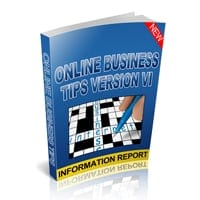 Online Business Tips Version VI