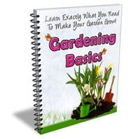 Gardening Basics Newsletter 1