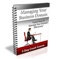 Managing Your Business Domain 1