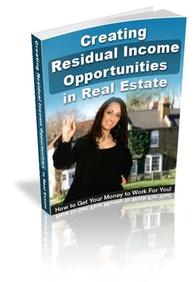 Residual Income Opportunities in Real Estate