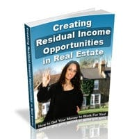 Residual Income Opportunities in Real Estate 1