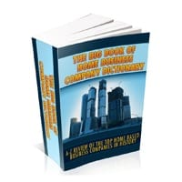 The Big Book Of Home Business Company Directory 1