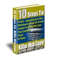 10 Steps To Killer Web Copy 1