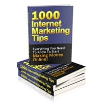 1000 Internet Marketing Tips 2