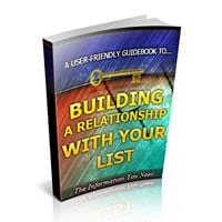 Building a Relationship With Your List 2