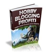 Hobby Blogging Profits 1