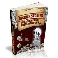 Insider Secrets For A Successful Membership Website 1