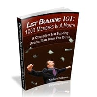 List Building 101 1