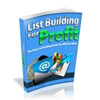 List Building For Profit 2