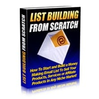 List Building From Scratch 1