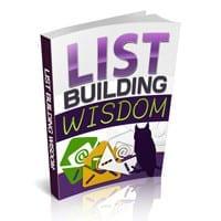 List Building Wisdom 1