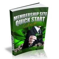 Membership Site Quick Start 1