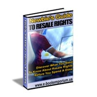 Newbie's Guide To Resale Rights 2