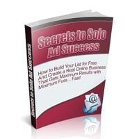 Secrets to Solo Ad Success 1