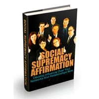 Social Supremacy Affirmation 1