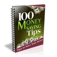 100 Money Saving Tips 1