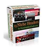 15 Niche Headers Package 2