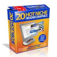 20 Hot Niche Header Graphics V2