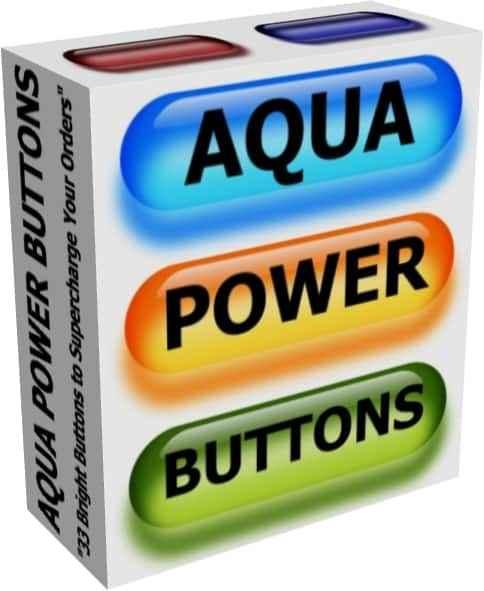 Aqua Power Buttons