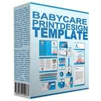 Baby Care Print Design Template 1