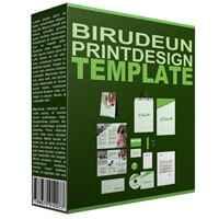 Birudeun Print Design Template 1