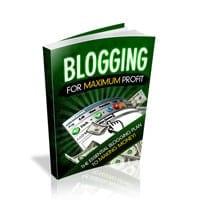 Blogging For Maximum Profit 2