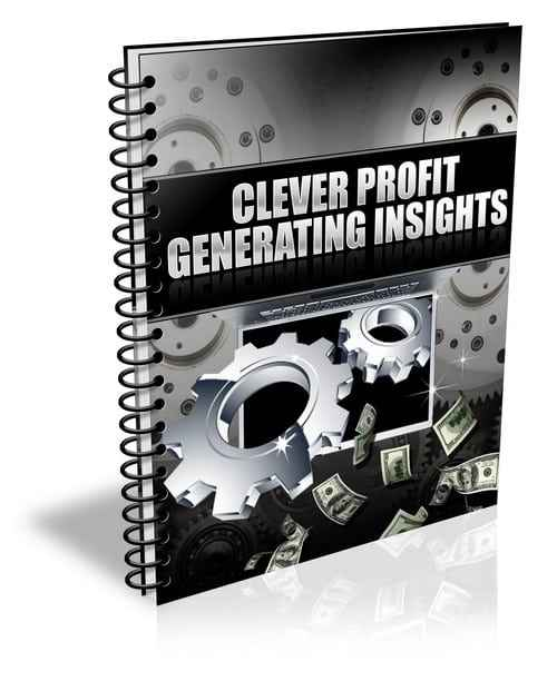 Clever Profit Generating Insights