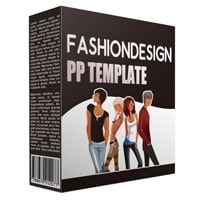 Fashion Design Multipurpose Powerpoint Template 1