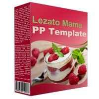 Lezato Mama Multipurpose Powerpoint Template 1