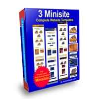 3 Minisite Templates