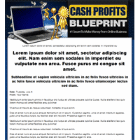 Cash Profits Blueprint Template
