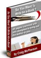 So You Want To Write An eBook