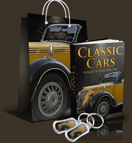 Classic Cars Minisite
