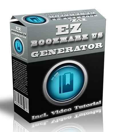 EZ Bookmark Us Generator