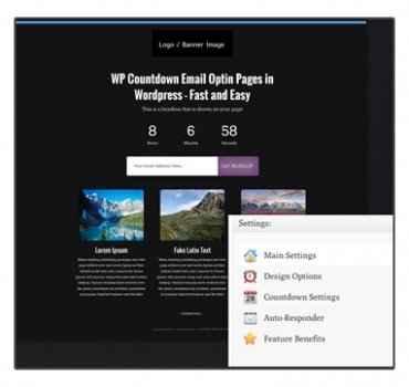 WP Opt-in Countdown Plugin