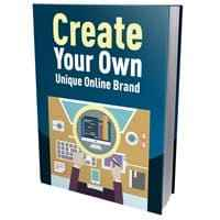 Create Your Own Unique Online Brand 1