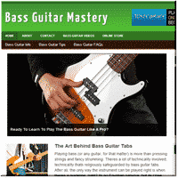 Bass Guitar Turnkey Site 1