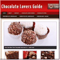 Chocolate PLR Blog 1