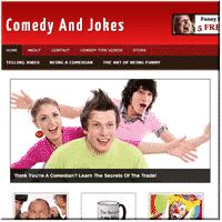 Comedy Niche PLR Blog 1