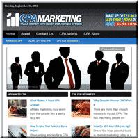 CPA Blogger PLR Site 1