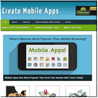 Create Mobile Apps Site 2