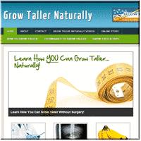 Grow Taller Niche Blog 1