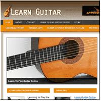 Guitar Niche PLR Blog 1