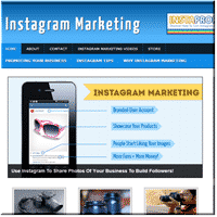 Instagram Marketing Site 1