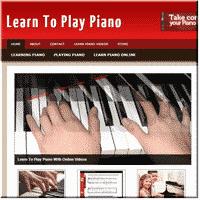 Learn Piano PLR Site 1