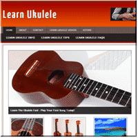 Learn Ukulele Niche Site 1