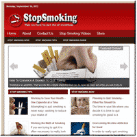 Stop Smoking PLR Site 1