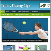 Tennis Niche PLR Site 1