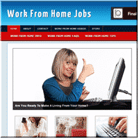 Work From Home Jobs PLR 1