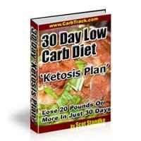 30 Day Low Carb Diet Ketosis Plan 1